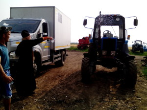 Молебен на начале строительства овощехранилища в кооперативе Надежда д. Старая Монья Малопургинского района 03 (8)